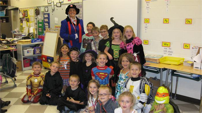 Mrs. Roush First Grade Class